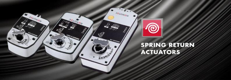 spring return actuators
